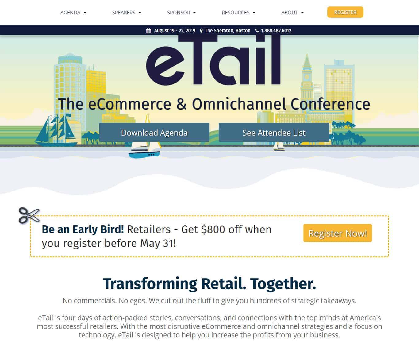 eTail east & eTail west