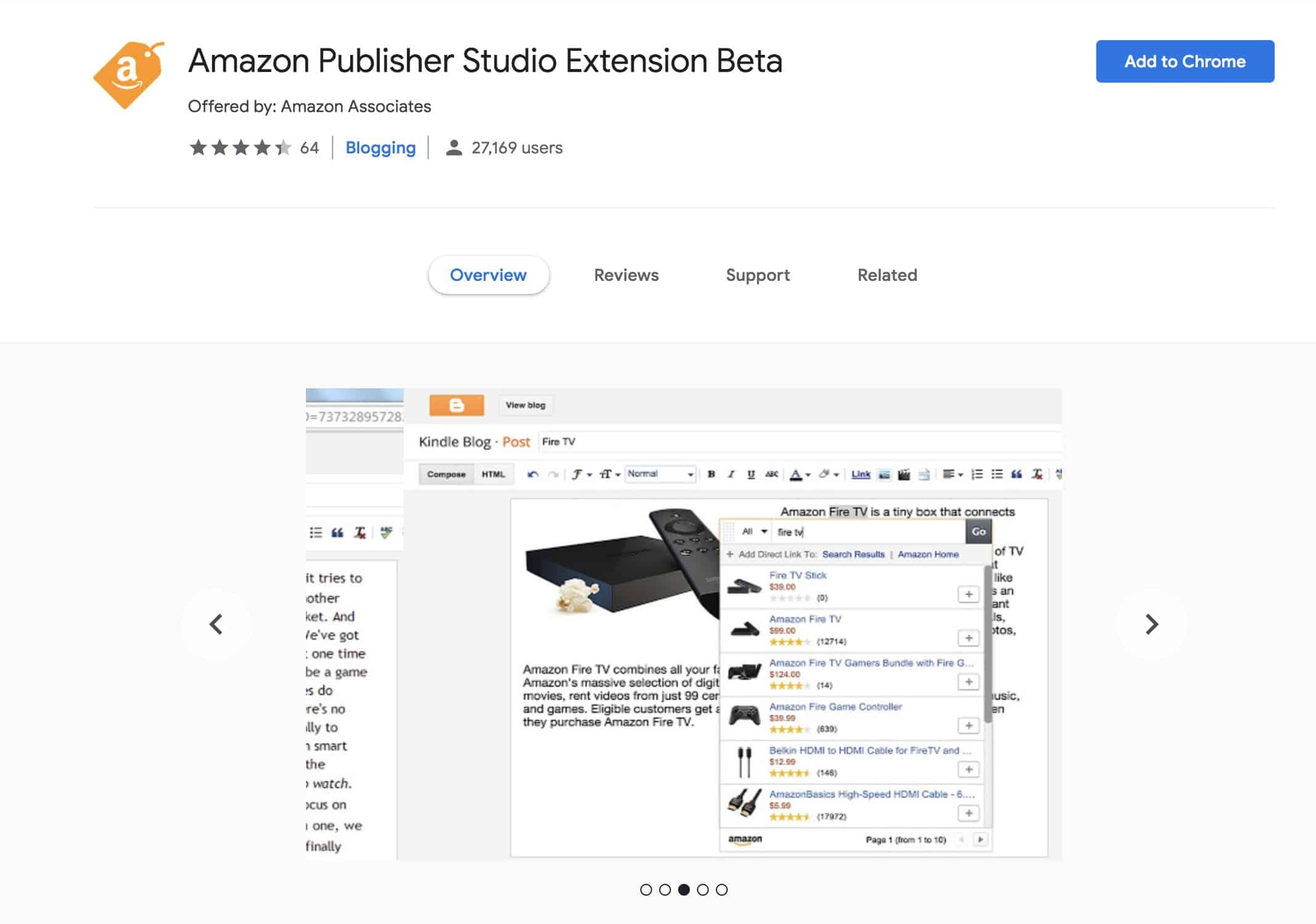 Amazon Publisher Studio Extension Beta