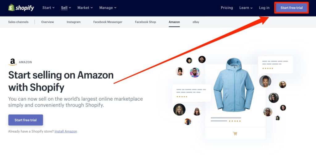 Selling on Amazon with Shopify Integration
