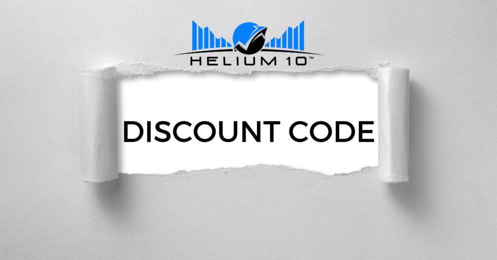 Helium 10 Discount Code