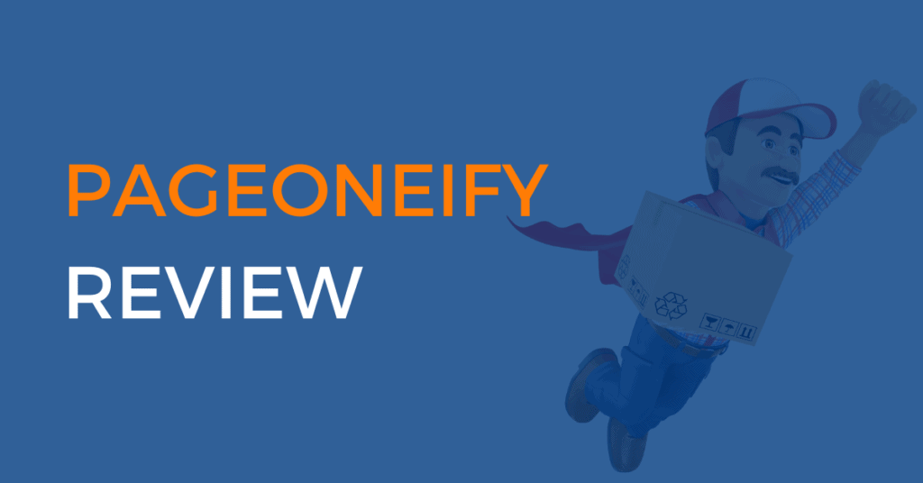 pageoneify review coupon